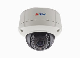 Full color starlight dome camera AX-F200VEB-IP