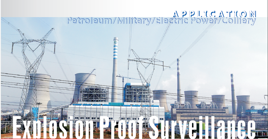 Explosion Proof Cameras for Gpetrochemical industry security system