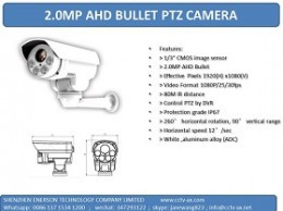 2mp mini ahd ptz camera